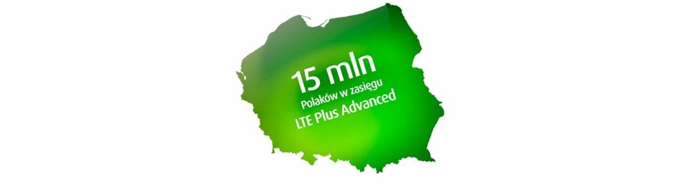 Ponad 300 miejscowości w zasięgu LTE Plus Advanced