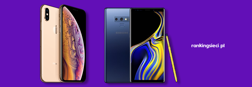 Apple iPhone XS vs Samsung Galaxy Note 9