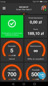 Mój Orange Android
