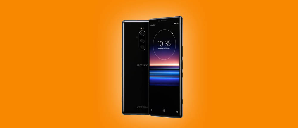 Sony Xperia1 Orange