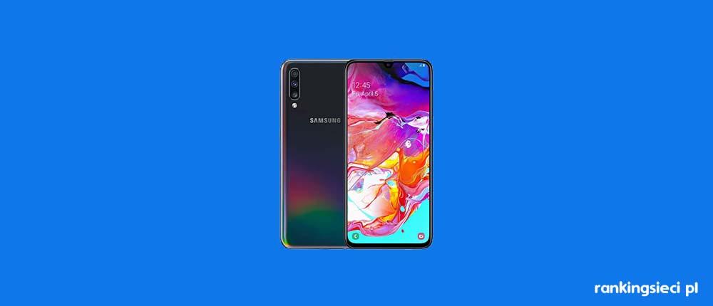 Nowość w Plushu – Samsung Galaxy A70