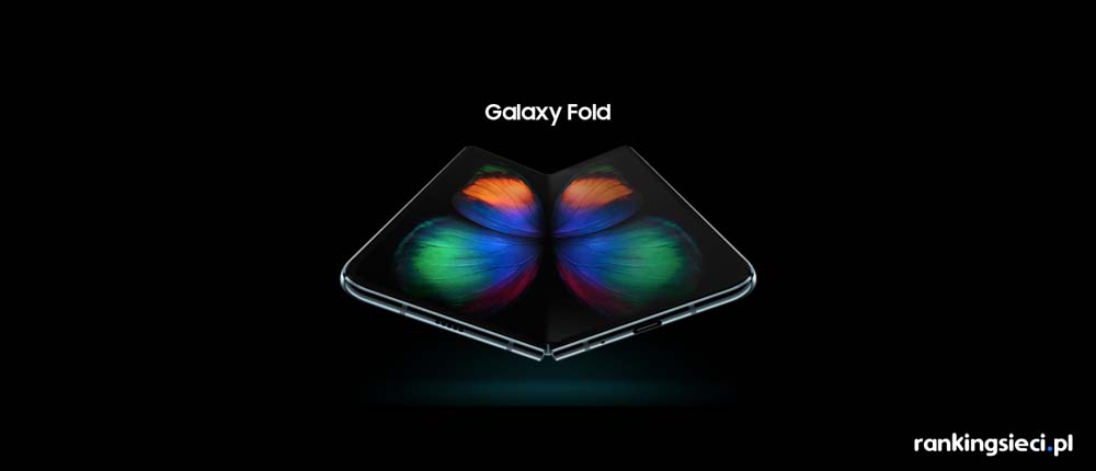 Samsung Galaxy Fold w Orange za 0 zł wraz z Galaxy Buds