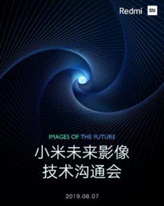 Redmi Note 8 Demo 7 sierpnia Chiny