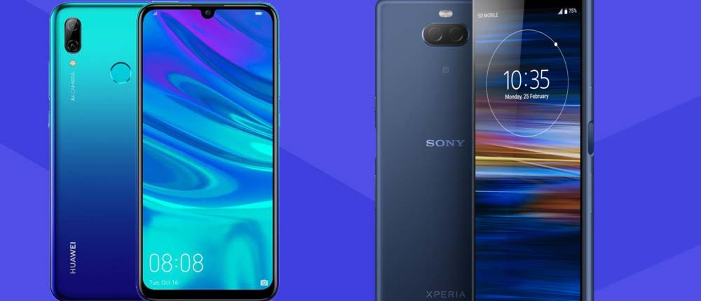 Tańsze telefony w Play – rabaty do 200 zł. W tym Sony Xperia 10 i Huawei P Smart Z
